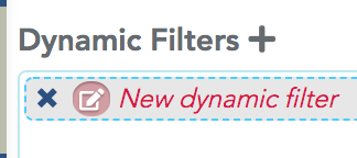 Rename a filter