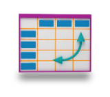 Icon to create a pivot table
